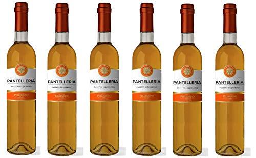 Passito Liquoroso Pantelleria Cantine Pellegrino [ 6 Botellas x 500ml ]