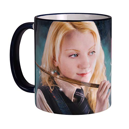Elbenwald Harry Potter Tasse Luna Lovegood 320ml Keramik blau