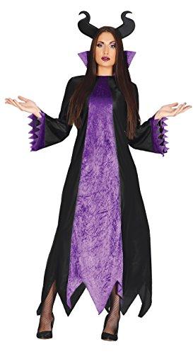 Guirca- Disfraz adulta hada oscura, Talla 42-44 (84456.0)