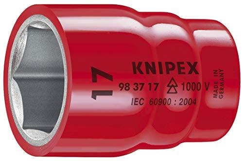 KNIPEX Douilles à six pans avec carré femelle 1/2\