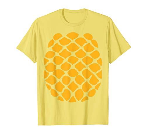 Pineapple Costume T-Shirt - Easy Cheap Halloween Costume T-Shirt