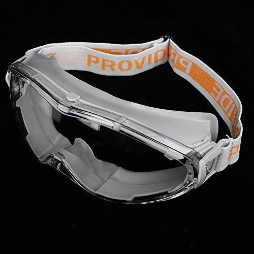 Crisis Lunettes de sécurité Anti-Impact protégées Contre Les UV, Lunettes de Protection des Yeux, Travail extérieur Anti-poussière pour lindustrie(Gray)