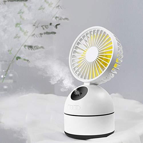 YouYou-YC multifunctionele mini spray ventilator bevochtiging koeling USB opladen kantoor draagbare kleine ventilator mini airconditioning student slaapzaal slaapkamer desktop kleine ventilator water spray met mute