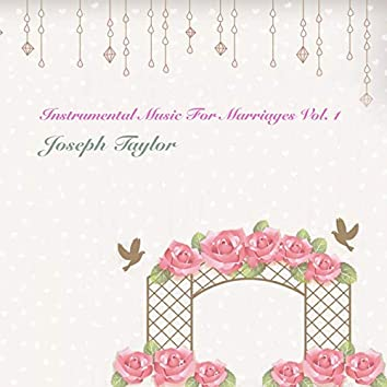 Instrumental Music for Marriages, Vol. 1