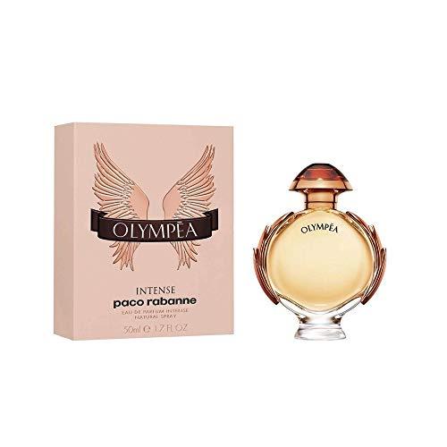 Paco Rabanne Olympéa Intense 50 ml Mujeres - Eau de parfum (Mujeres, 50 ml, Envase no recargable, Aerosol, Orange blossom, white pepper, vanilla salt, white amber, ambergris, 1 pieza(s))