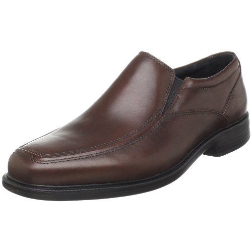 Bostonian Men's Mendon Dress Slip-On,Black Leather,10 M US