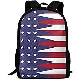 Hdadwy Mochila, bandera de EE. UU. Y América, mochila de viaje para adultos, mochila escolar informal, mochila Oxford para ordenador portátil al aire libre, bolsos de hombro para ordenador universitar