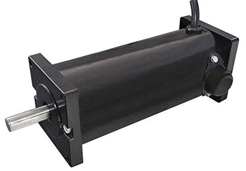 Dayton 4Z140 DC Motor, PM, TENV, 1/8 hp, 1800 RPM, 90VDC, Degrees_Fahrenheit, to Volts, Amps, (