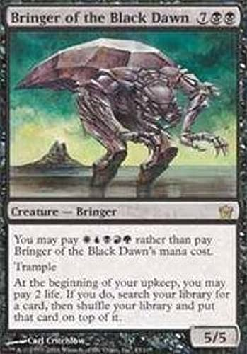 Magic  the Gathering - Bringer of the schwarz Dawn - Fifth Dawn - Foil by Magic  the Gathering