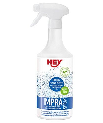 HEY sport IMPRA Spray zur Imprägnierung von Leder und Textilien wie GORETEX, SYMPATEX