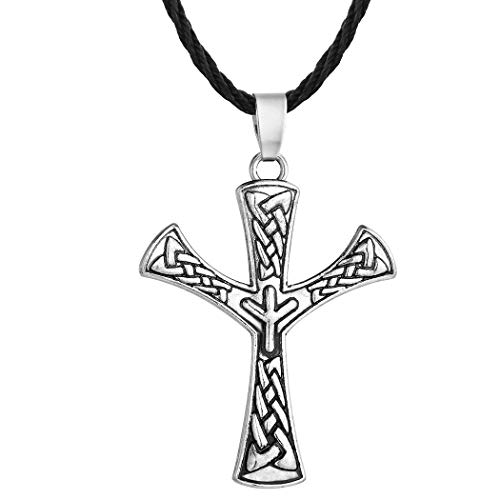 Algiz Rune Pendant Elhaz Amulet Nordic Viking Jewelry Scandinavia Norse Pagan Protection Talisman Celtic Jewelry