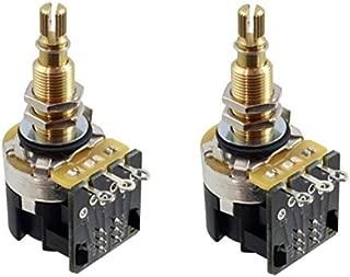 CTS 500K Push Pull Long Shaft Audio Taper Potentiometers - Pair (2X)