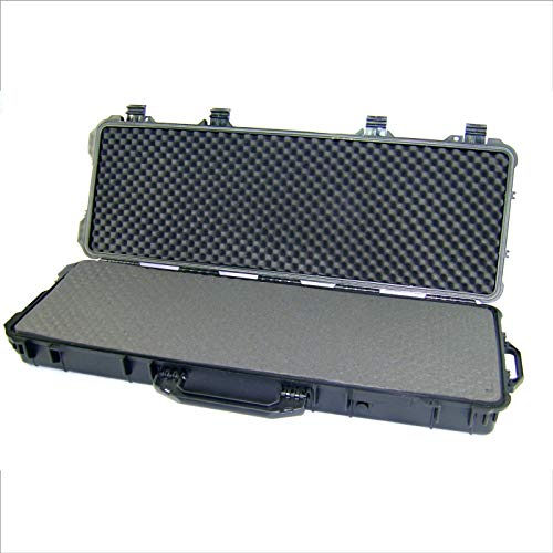 BUZE Waffenkoffer Gewehrkoffer 58 Liter Innenmaße 1282x343x133 mm Outdoor Wasserdicht