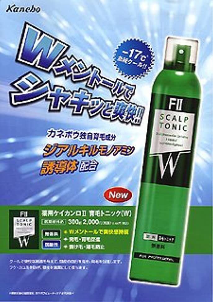 修正する溢れんばかりの加速度クラシエ ケイカンロF2 育毛トニック(W)  300g