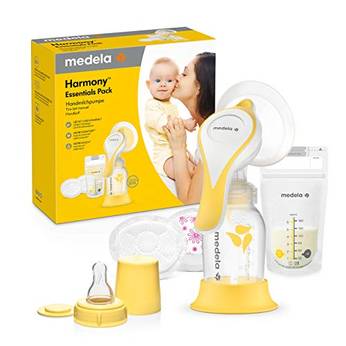Medela Harmony Essentials Pack Handmilchpumpe, mit 2-Phase-Expression-Technologie, kompakt, leicht, ideal für unterwegs