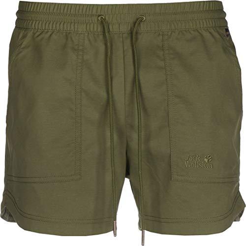 Jack Wolfskin 4060477482675 Shorts, Oliva Verde, XS Mens
