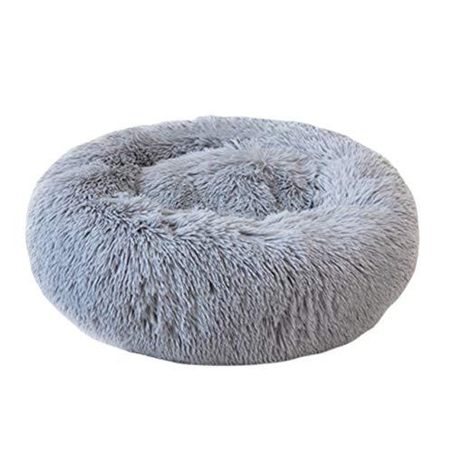 Sueño profundo felpa redonda perro perrera gato arena otoño e invierno mascota nido Mat gato cama profesional moda