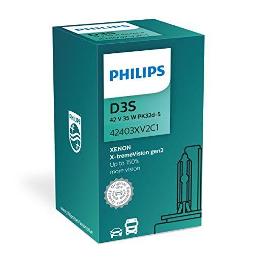 Philips Vision Xenon x-tremevi Sion D3S Gen2 jusqu'à 150% plus Xenon Graveur de 42403 x v2 C1