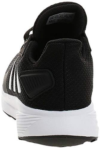 adidas Unisex Duramo 9 Walking Shoe, Black Black 000, 5.5 UK