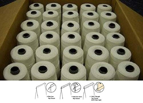 Cheapest Price! Bag Closer Machine Thread - 32 Spools x 2520 Yards Each