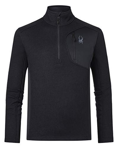 Spyder Herren Bandit Half Zip Jacke, schwarz, L