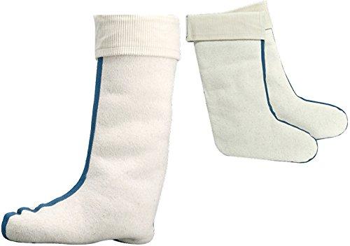 SOCKS PUR Stiefeleinsatz mit Lammwollfutter 1 PAAR (37/38, 6699: Stiefeleinsatz Lammfell Weiß)