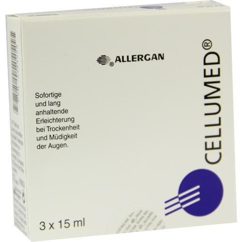 CELLUMED Augentr., 3X15 ml