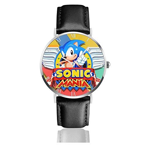 The-Hedgehog 2 Teens Niños Estudiantes Relojes de Regalo Reloj de Moda Ultrafino