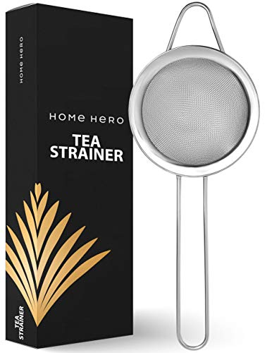 Tea Strainer Tea Small Strainer - Mini Strainer Small Mesh Strainer Small Strainer Fine Mesh Strainer for Tea - Matcha Sifter Tea Sifter Mini Strainer Fine Mesh - Fine Tea Strainer Tea Sieve for Tea