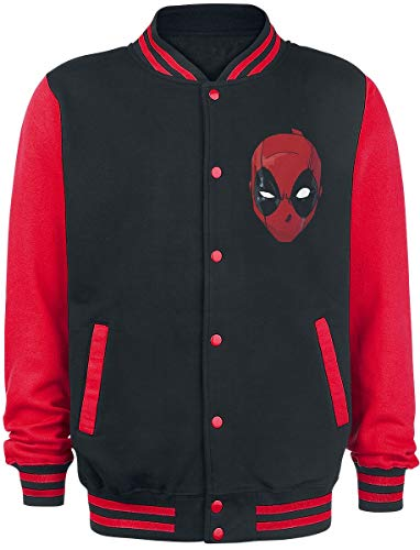 Deadpool Insufferable Collegejacke schwarz/rot XXL