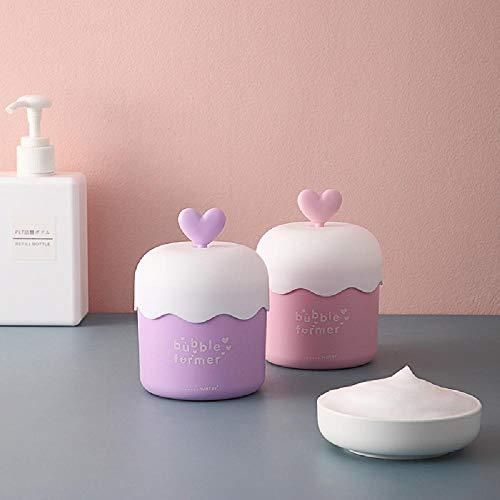 Dispositivo de burbujas manual Dispositivo de espuma facial de espuma de mano Dispositivo de burbujas de espuma Fabricante de espuma Crema limpiadora Gel de ducha Prensa Dispositivo de burbujas