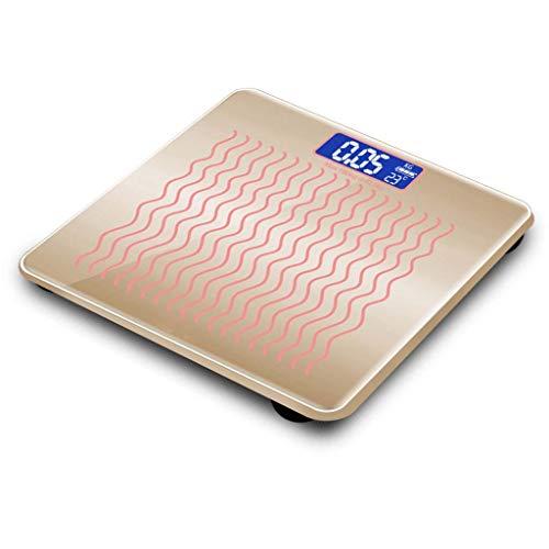 Balances électroniques, mesure du poids, corps en verre Intelligence Tough 25mm, affichage numérique en verre facile à lire (Couleur : F)