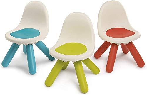 Smoby - Sillas para niños - Línea Kid - Color Azul, Verde, Rojo - Modelo n. 7600880100