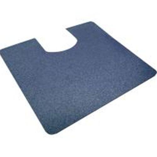 シンエイテクノ ゼオシーター(ポータブルトイレ用防臭すべり止めマット) ブルー 55cm×60cm(洋式)