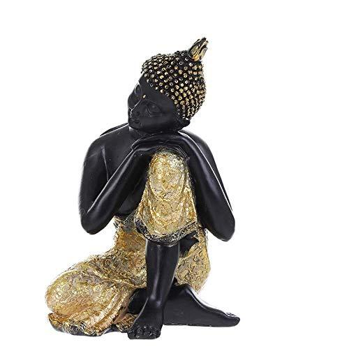 HandWerk Dekoration Charaktere Skulptur Buddha Statuen Schlafender Buddha Boxwood Crafts Ornamente Hauptdekorationen Lucky Town Haus Schlechter Schreibtisch Wohnzimmer 14 * 12 * 20cm