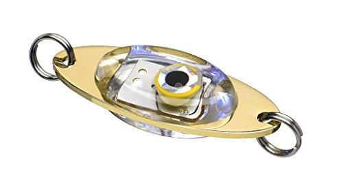 Fladen Angeln – 20 g Pilker LED Attraktor Aufsatz Blinklicht für Nachahmung lockt (verschiedene Farben) – Ideal für Deep Sea, Eis, Spin und Predator Angeln (Rot)