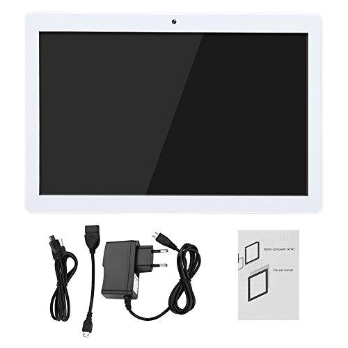 CHICIRIS Tablet Android de 10 Pulgadas, Tablet PC con cámara Dual 3G / Bluetooth/WiFi 1GB RAM + ROM ROM de 16GB Tablet WiFi para Android(Enchufe UE Oro Rosa)