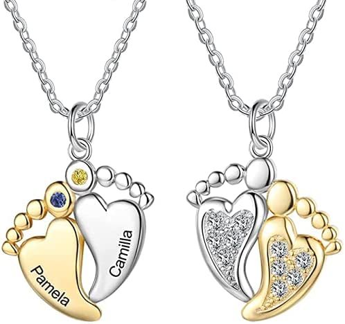loraJewel Ranking TOP6 Personalized Mother's Necklace Simulated Birthsto Over item handling ☆ with