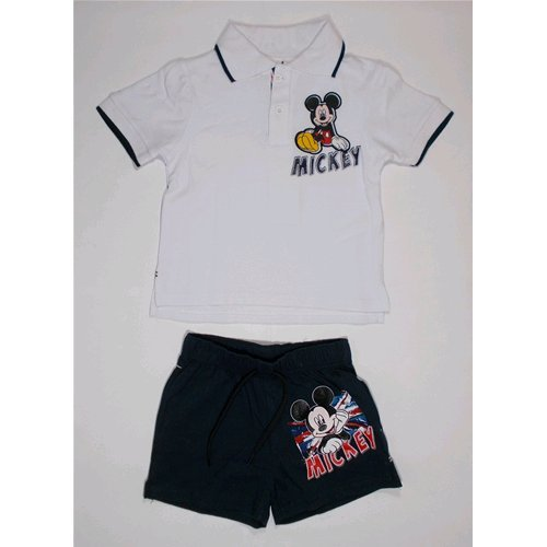 Complet D'été courte Mickey Polo + Short Marvel 3/8 ans – oe1496 anni 06 bleu
