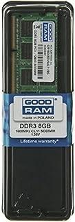 Goodram 8GB DDR3 PC3-12800 SO-DIMM 8GB DDR3 1600MHz módulo de - Memoria (8 GB, 1 x 8 GB, DDR3, 1600 MHz, 204-pin SO-DIMM)