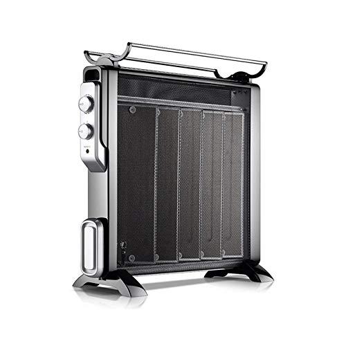 HDCDKKOU Radiador Lleno □ 2200W □ Freestanding □ Enchufe el Calentador eléctrico portátil □ 3 Configuración de Potencia, Temperatura/termostato Ajustable, Corte de Seguridad térmica