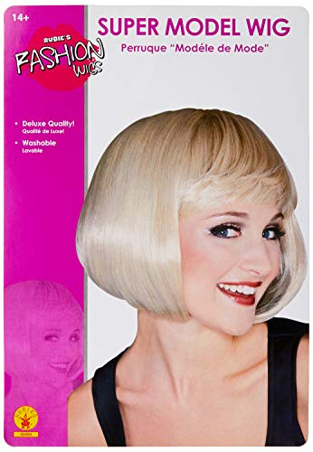 Rubie's - Perruque Officielle Super Model Blond - Taille Unique