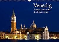 Venedig - Impressionen aus La Serenissima (Wandkalender 2022 DIN A3 quer): Impressionen aus der Lagunenstadt Venedig (Monatskalender, 14 Seiten )