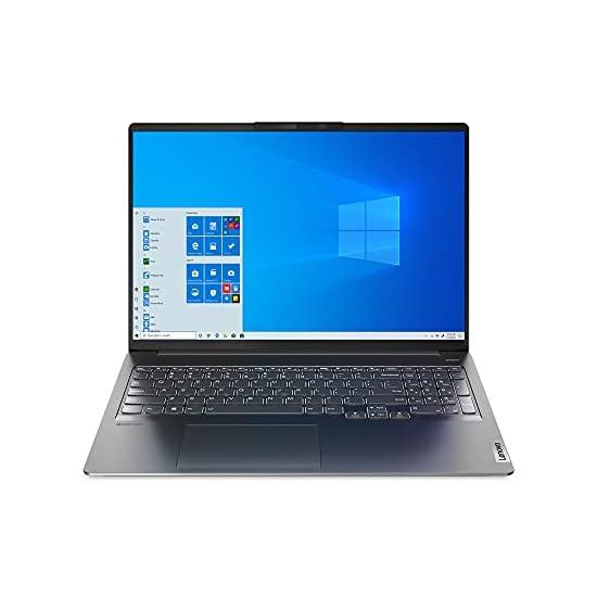 Lenovo IdeaPad 5i Pro 16″ Laptop, 16.0″ QHD (2560 x 1600) Display, Intel Core i5-11300H Processor, 16GB DDR4 RAM, 512GB M.2 SSD Storage, NVIDIA GeForce MX450, Windows 10 Pro, 82L9000KUS, Storm Grey
