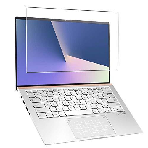 """Vaxson Vetro Temperato Pellicola Protettiva, compatibile con ASUS ZenBook 14 UX433 UX433FAC 14"""" [SOLO Area Attiva] Screen Protector [Non Cover Custodia ]"""