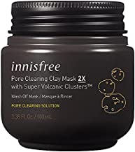 innisfree Pore Clearing Clay Mask 2X Super Volcanic Clusters Face Treatment