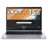 Google Chromebook Acer ノートパソコン CB315-3H-A14P 15.6インチ 日本語キーボード Celeron N4020 4GBメモリ 64GB eMMC microSD カードリーダー