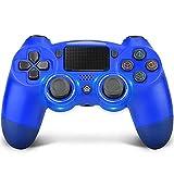 Wireless Controller für PS4,TechKen Dualshock 4 Controller Playstation 4 Game Controller Ersatz mit Audiofunktion / Touchpanel / Dual Vibration / 6 Achsen für PS4 / PS4 Slim / PS4 Pro