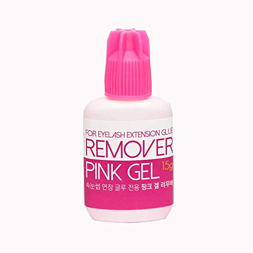 Rose Gel Dissolvant pour Extension de Cils - Lashes Extension Dissolvant - Wimpernentferner 15g