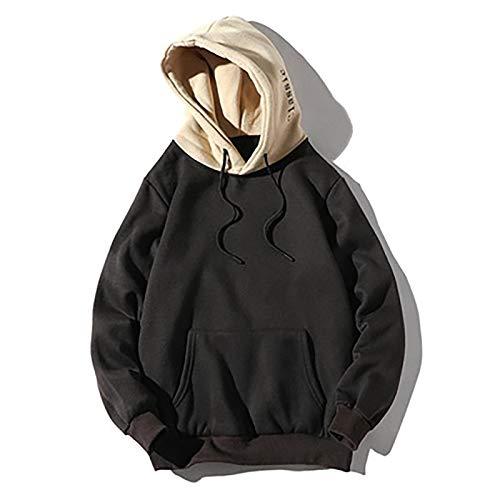 mens hooded sweatshirt classic solid